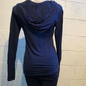 Splits 59 blue LS top, sz xs, 59008